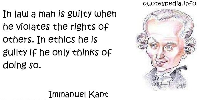 the right and the wrong immanuel kants view on ethics Noumenautics: metaphysics - meta-ethics - psychedelics by peter sjöstedt-h (click) general introduction to kant - immanuel kant (1724-1804) is one of the most influential of all philosophers.
