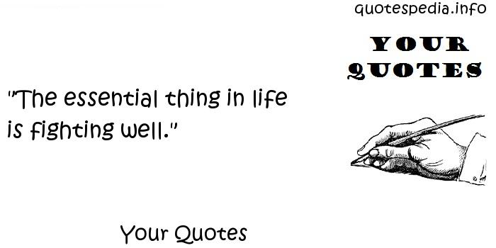 Your Quotes -