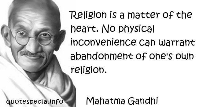 does gandhi matter It is an age dominated by violence, mass terror and protests is non-violent protest relevant in the 21st century.