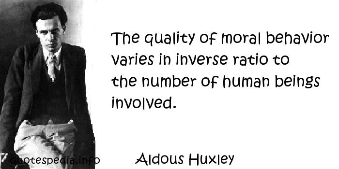 words and behavior by aldous huxley pdf