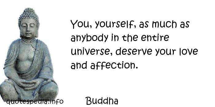 buddha quotes about loving yourself quotesgram